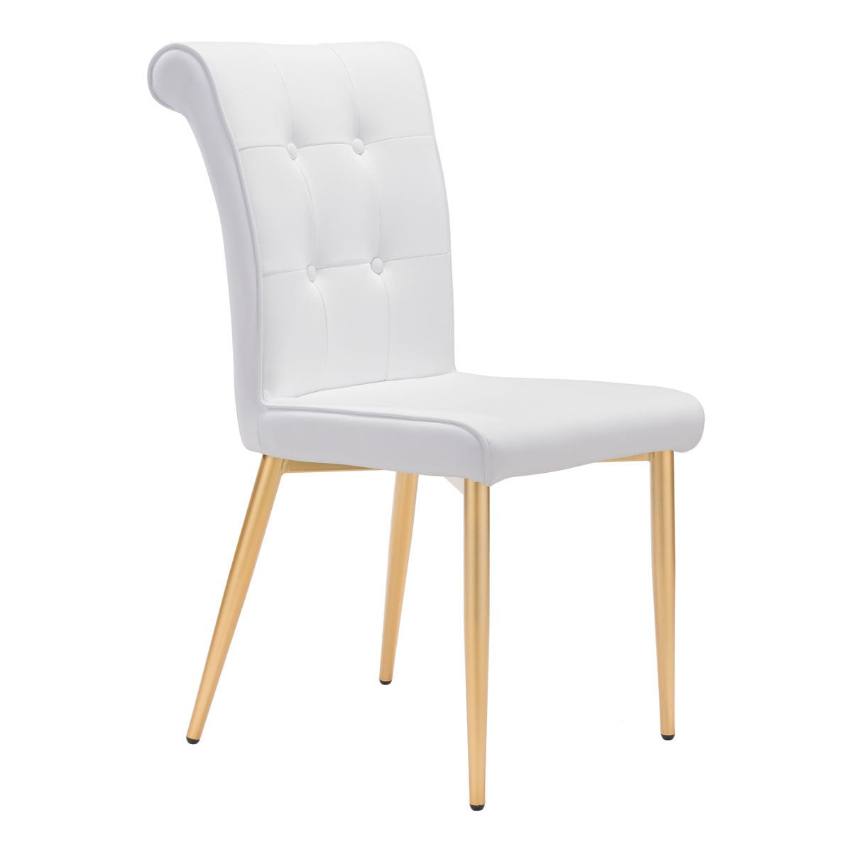 Zuo Niles Dining Chair White (Set of 2)