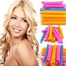 Heat-Free Magic Hair Curlers