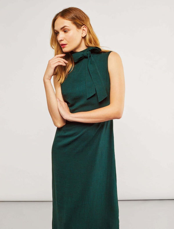 Sleeveless Maxi Dress - Teal