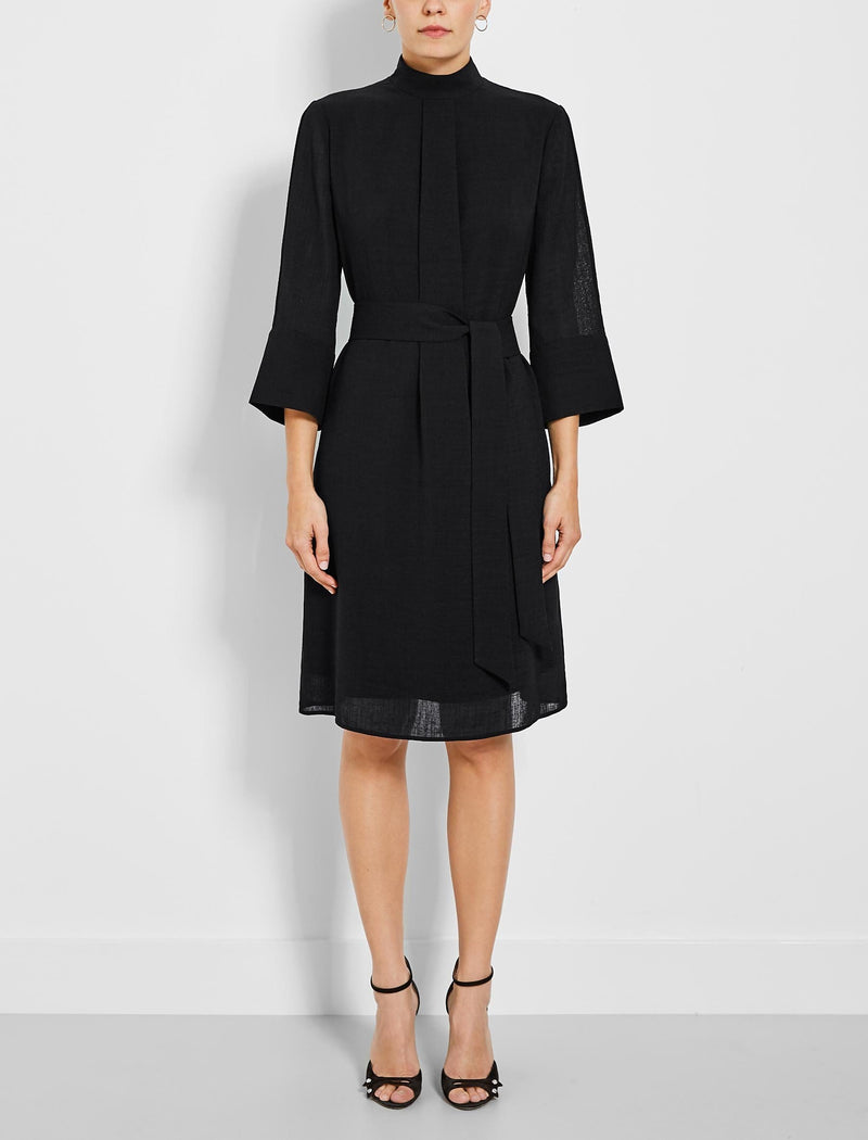 funnel neck dresses