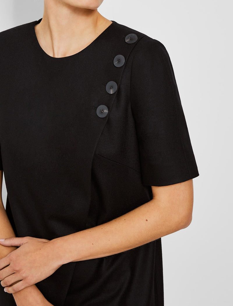 Button Shift Dress