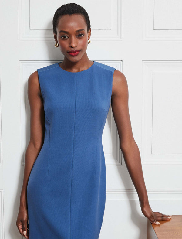 Cornflower Blue Pencil Dress