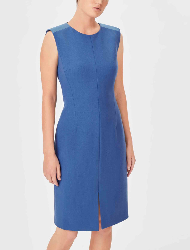 cornflower blue dress