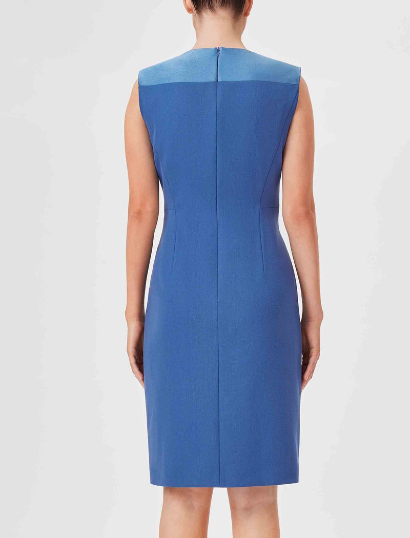 cornflower blue pencil dresses