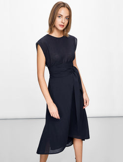 dip hem dress