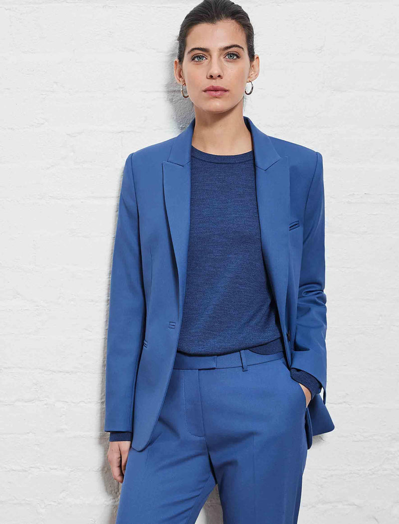 cornflower blue blazer