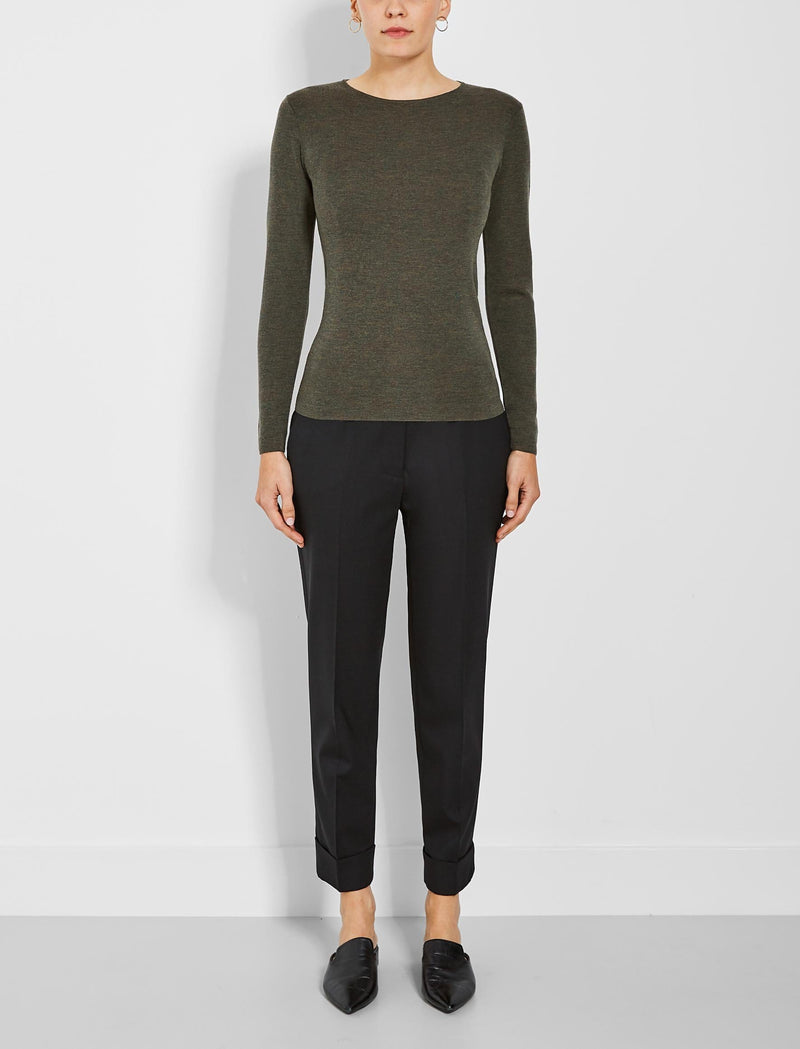 womens round neck jumper