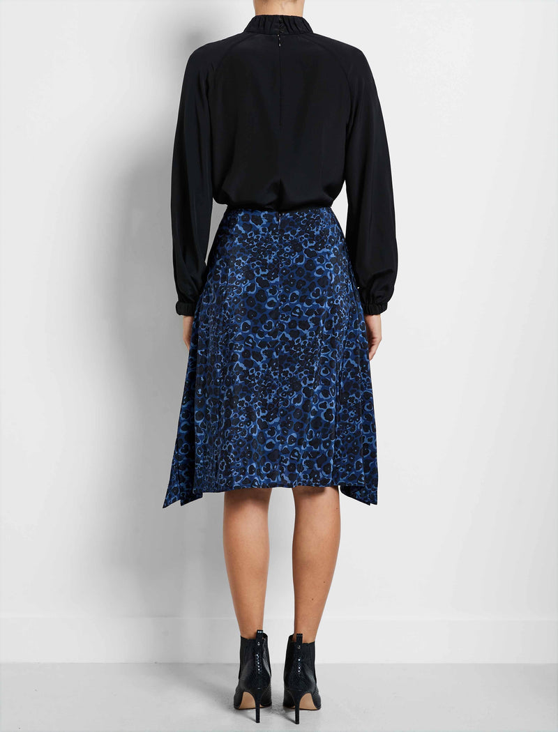 blue Handkerchief Skirts