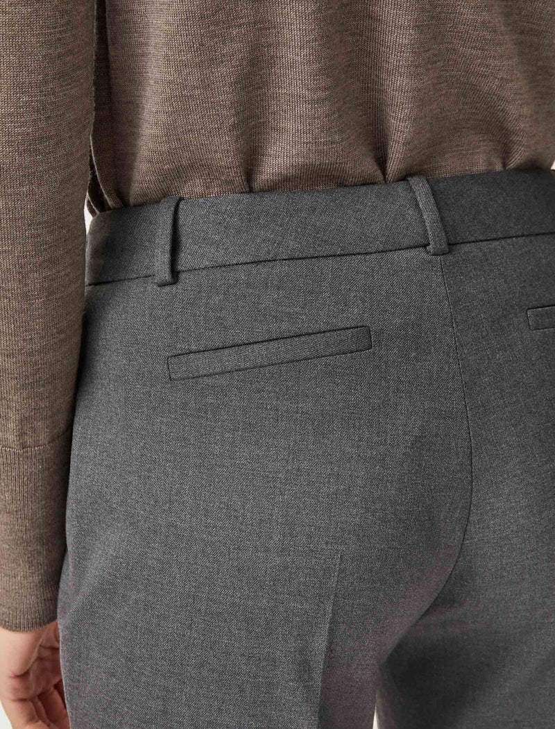 grey wool trousers womens