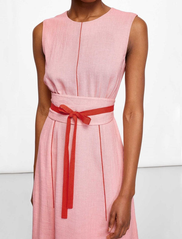 Rosie Sleeveless Maxi Dress - Blush