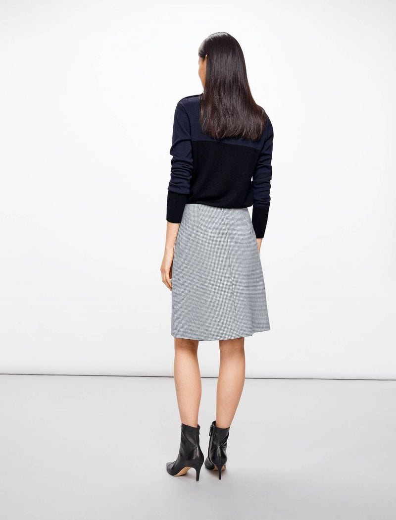 wool a-line skirts