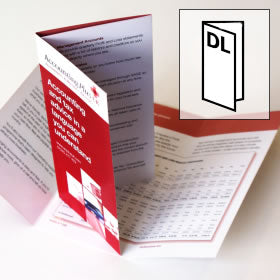 DL Folded Flyer & Leaflet, Flyer & Leaflet - We Print