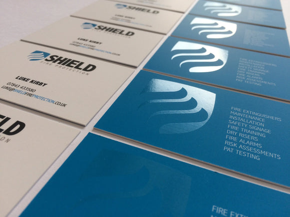 Laminated Business Card 400gsm, Business Card - We Print