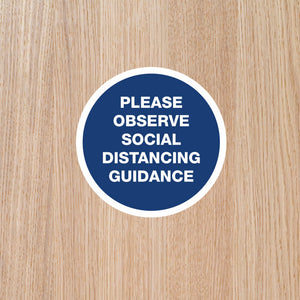 DOOR STICKERS - 'Observe' SINGLES