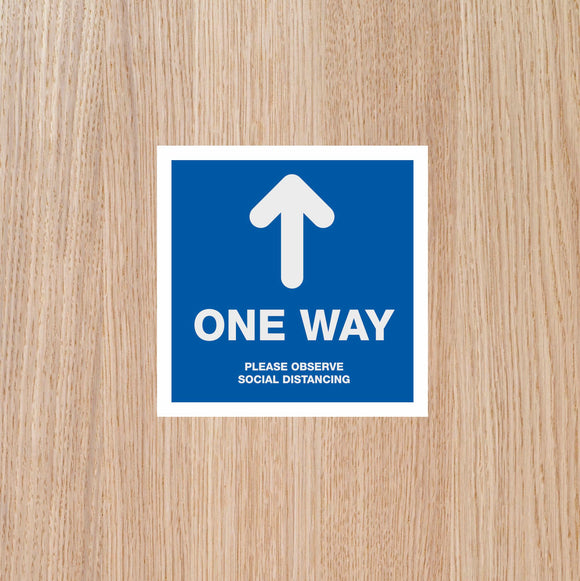 DOOR STICKERS - 'One Way' SINGLES