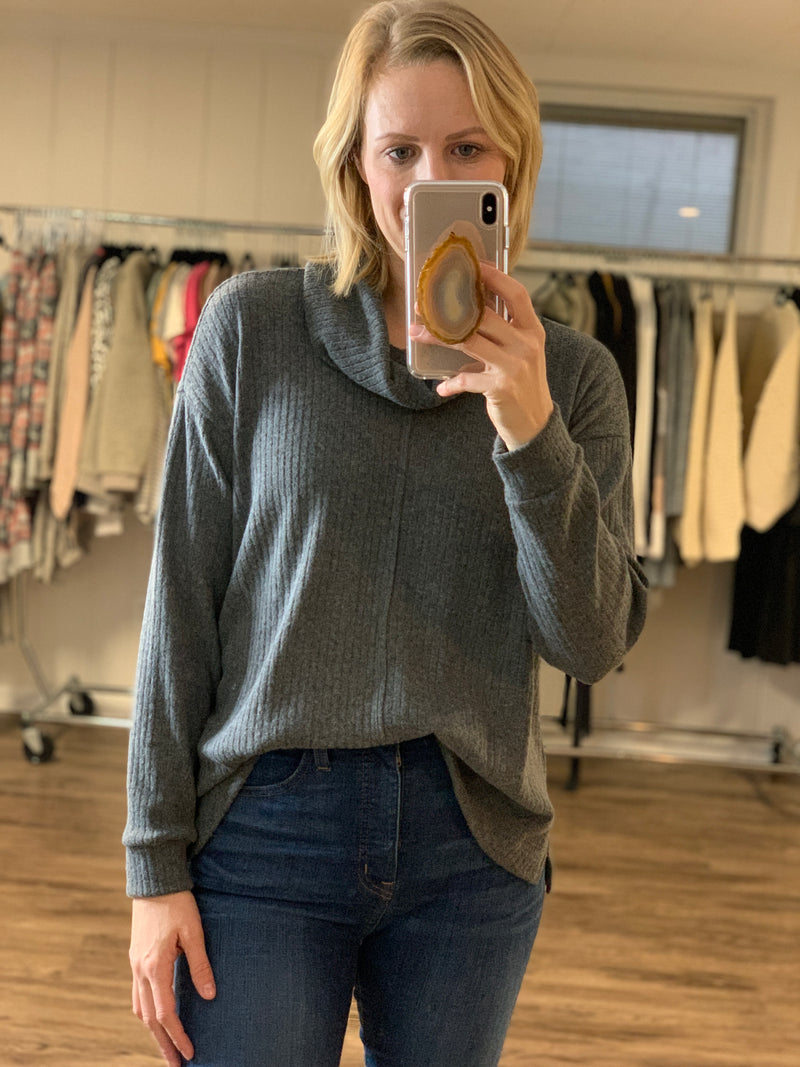 Cozy Cowlneck Sweater