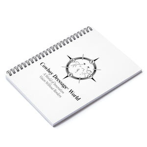 Cowboy Dressaage Spiral Notebook - Ruled Line