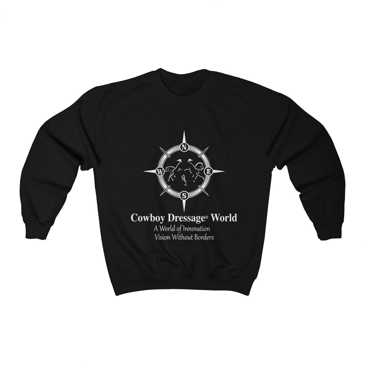 Cowboy Dressage World Unisex Heavy Blend™ Crewneck Sweatshirt