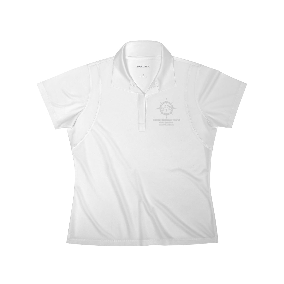 Cowboy Dressage Women's Polo Shirt
