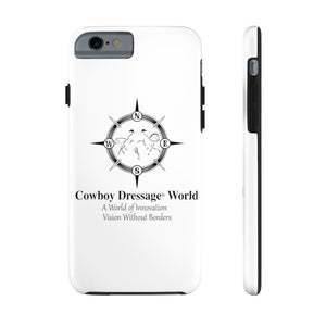 Cowboy Dressage Case Mate Tough Phone Cases