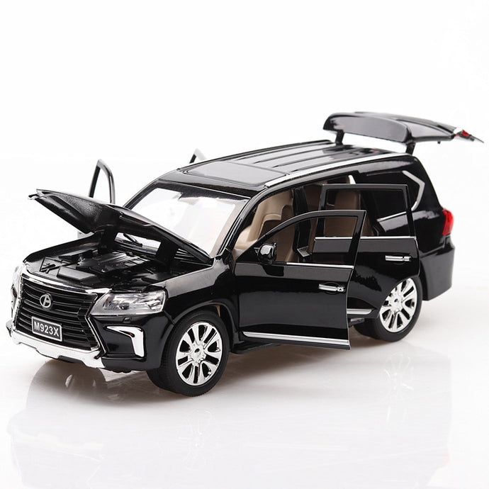 Miniatura Diecast: Mini Carro Colecionável - Lexus LX 570 Off-road