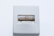 Load image into Gallery viewer, 18k Rose Gold Diamond Engagement Ring