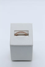 Load image into Gallery viewer, 18k Rose Gold Diamond Band