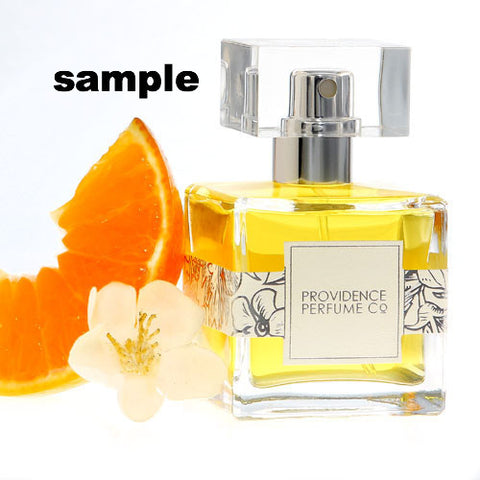 Sample Tangerine Thyme cologne