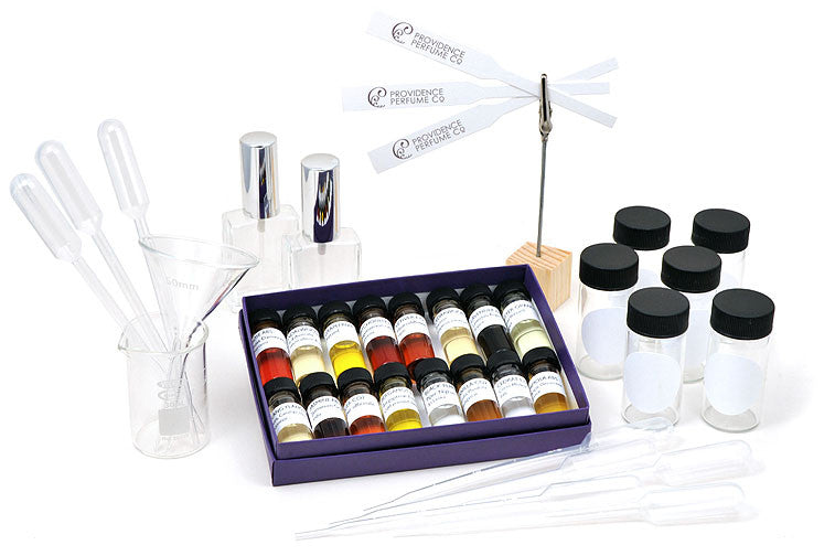 Deluxe Introduction to Natural Perfumery Kit with Labware - Providence Perfume Co.  - 1