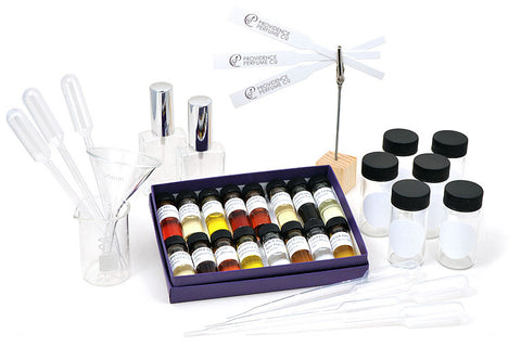 Deluxe Introduction to Natural Perfumery Kit with Labware