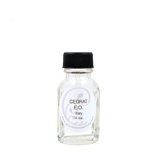 Cedrat Essential Oil - Providence Perfume Co.