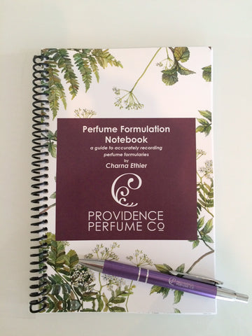 Perfume Formulary Notebook - A Guide To Accurately Recording Perfume Formularies