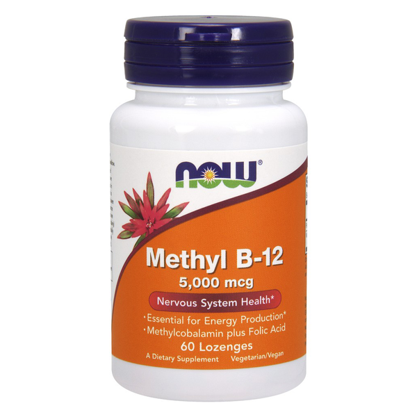 Methyl B-12 5000 mcg  lozenges