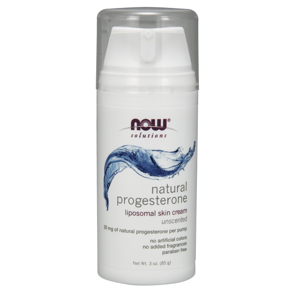Natural Progesterone Liposomal Skin Cream - 3 oz.