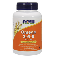 Omega 3-6-9 1000 mg (100 Softgels)