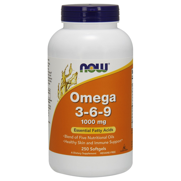 Omega 3-6-9- 1000 mg (250 Softgels)