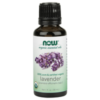 Certified Organic Lavender Oil - 1oz