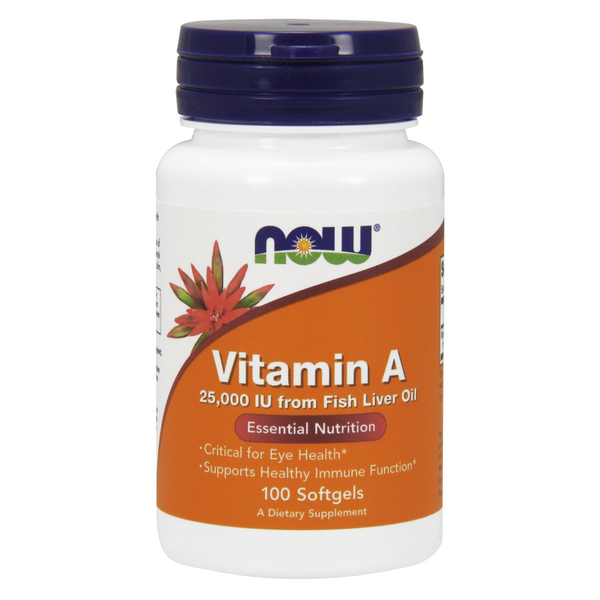 Vitamin A  25,000 IU (bottle of 100)