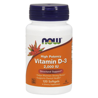 Vitamin D-3 2000 IU (120 Softgels)
