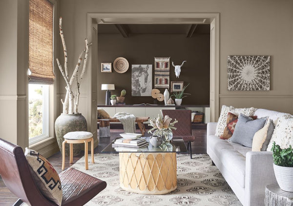 Earth tone Feng Shui Interior