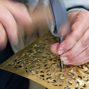 Brass Hand Working in Morocco