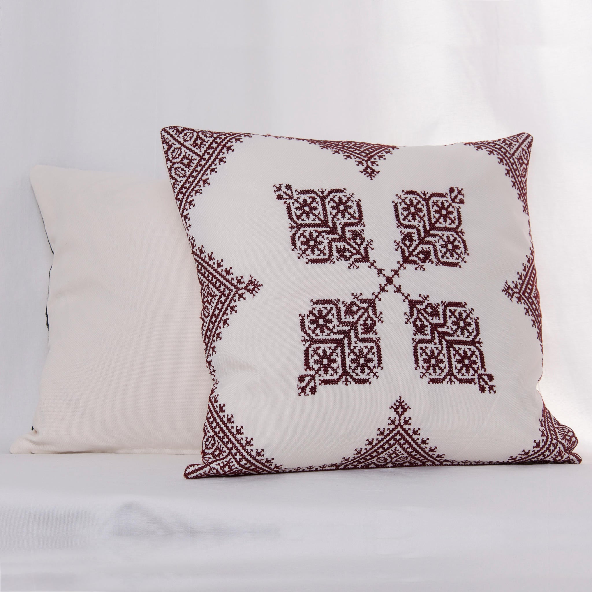 handmade moroccan embroidered cushion cover