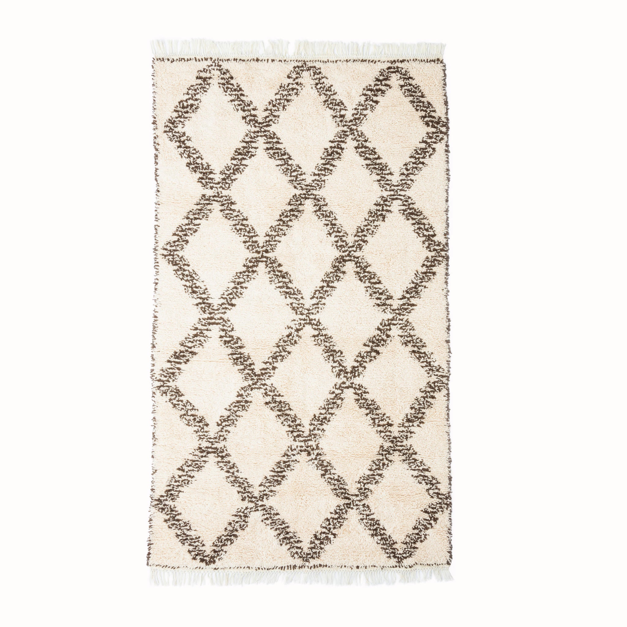 Hand-knotted Berber Rug