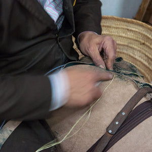Leather Hand Working in Morocco