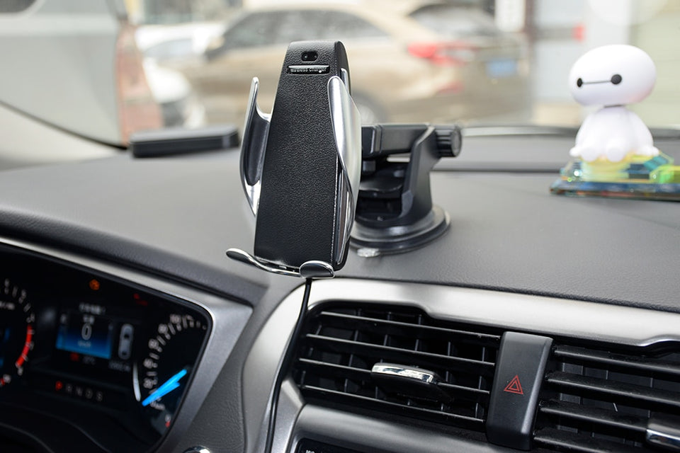 Smart Systems™  Automatic Clamping Wireless Car Charger Mount