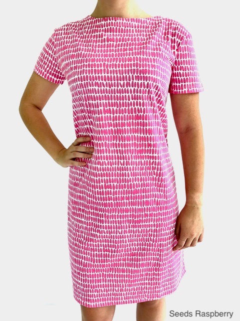 Knit Dress Short Sleeve