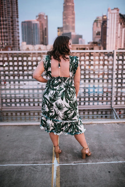 Palm Pom Dress