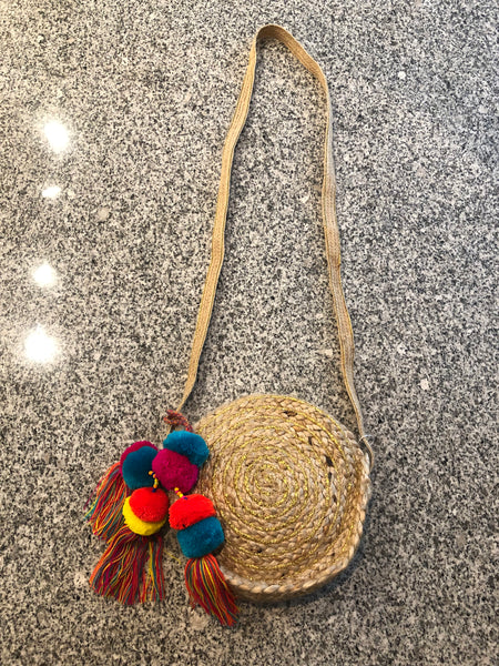 Fun in the Sun Circle Beach Bag