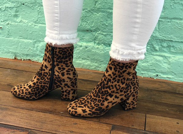 Cheetah Dress Boots
