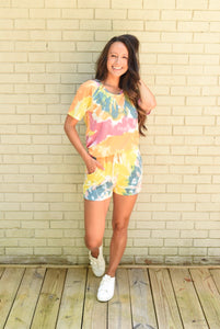 Colorful Tie Dye Loungewear Set